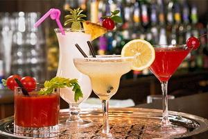 Необычные алкогольные коктейли.
