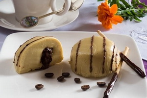 Рецепт десерта Панакота кофейная.