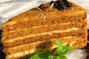 Медовый торт Рыжик.