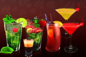 Алкогольные коктейли.
