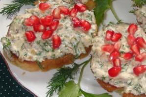 Бутерброды закусочные Праздничная зима.