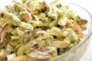 Итальянский грибной салат