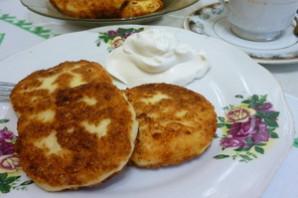 Сырники с картофелем.